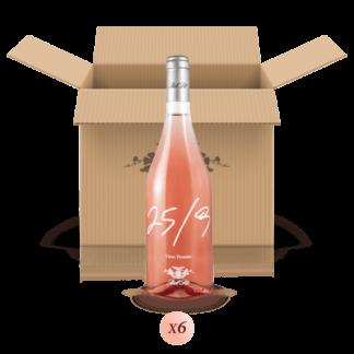 25/9 - confezione da 6 bottiglie di buon vino rosato - Bel Sit Winery