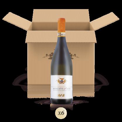 Moscato d'Asti DOCG - confezione da 6 bottiglie - Bel Sit Winery