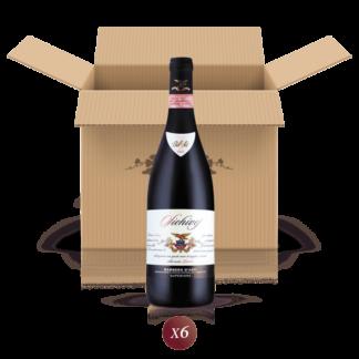 Sichivej - confezione da 6 bottiglie di vino Barbera d'Asti DOCG in riserva - Bel Sit Winery